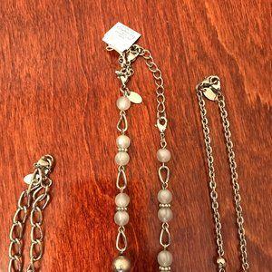 Lia Sophia Jewelry - NWT 3 in 1 detachable necklaces Lia Sophia Michael